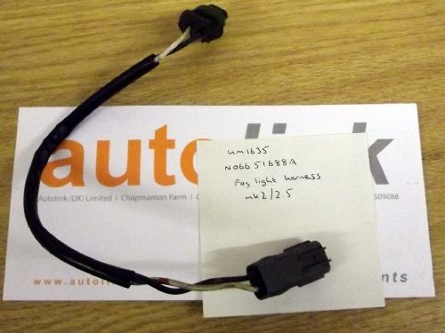 Foglamp wiring harness loom, for front fog light, Mazda MX-5 mk2 & mk2.5, N06651688A, USED